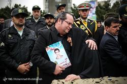 تشییع پیکر مطهر 14 شهید تازه تفحص شده ناجا