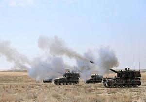 ادامه حملات ارتش ترکیه به عفرین + فیلم