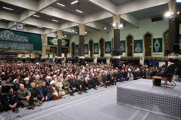 رهبر انقلاب در دیدار با مردم آذربایجان شرقی: