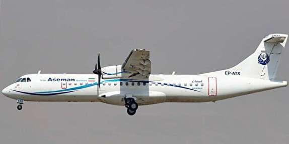 باشگاه خبرنگاران -اطلاعاتی درباره هواپیمای سقوط کرده ای. تی. آر آسمان