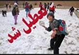 باشگاه خبرنگاران -بارش برف مدارس پیرانشهر را تعطیل کرد