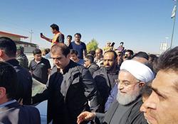 ویدئوی وعده داده شده دفتر ریاست جمهوری از حضور روحانی در بین مردم کرمانشاه