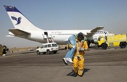 برگزاری مانور ۲ سالانه طرح اضطراری در ۱۷ فرودگاه کشور