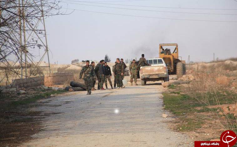 آزادسازی 1200کیلومتر مربع از مناطق محاصره شده توسط نیرو های مقامت/یاس تروریست های محاصره شده در جنوب غرب حلب+ تصاویر ونقشه