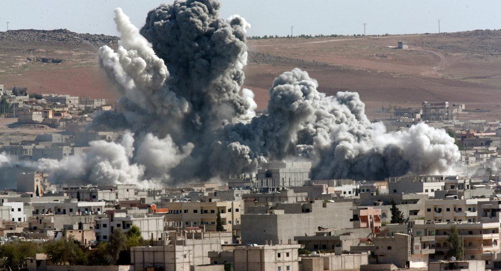 حمله خمپارهای تروریستها به منطقهای در دمشق