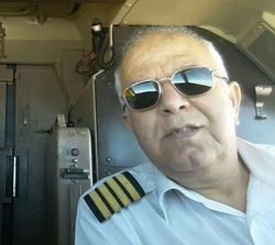 تصویر خلبان، کمک خلبان و ماموران امنیتی هواپیمای تهران_ یاسوج