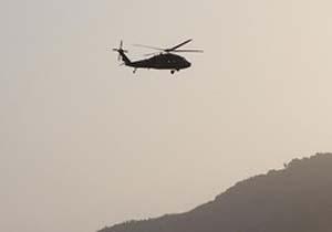 جستجوی بی نتیجه تیم اورژانس هوایی در منطقه سقوط