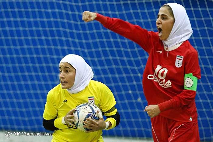 دیدار دوستانه تیم ملی فوتسال بانوان ایران و روسیه