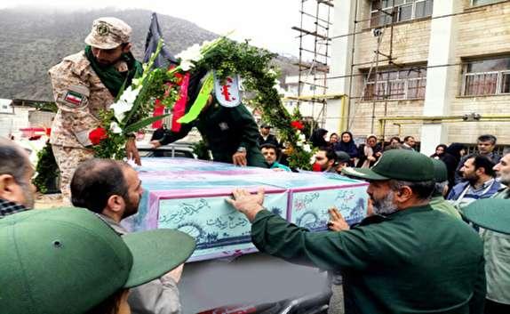 باشگاه خبرنگاران -ورود پیکر ۱۲ شهید دفاع مقدس به مازندران