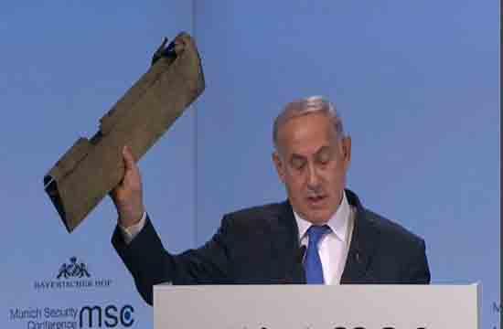 نمایش مضحک نتانیاهو همراه با چاشنی تراس از قدرت محور مقاومت