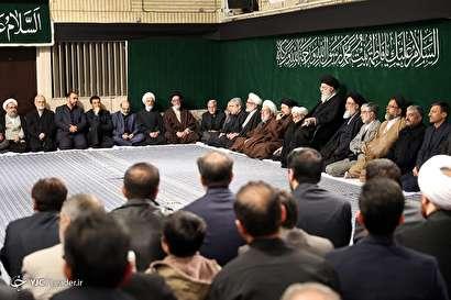 باشگاه خبرنگاران -مراسم عزاداری شب شهادت حضرت فاطمه زهرا (س) با حضور رهبر معظم انقلاب