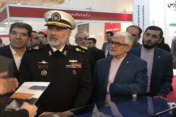 افتتاح اولین نمایشگاه بینالمللی جامع دریایی ایران