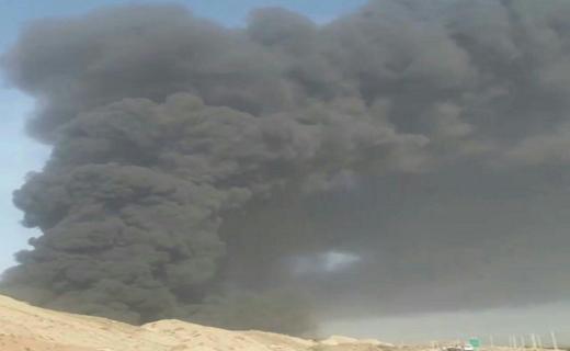 سه کشته و دو مصدوم در انفجار مخزن کارخانه قیر در غرب بندرعباس