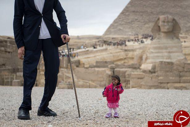کوچکترین زن جهان در هند کوتاه ترین زن قد کوتاه قد بلندترین مرد جهان قد بلندترین انسان سلطان کوسن رکوردهای جهانی گینس بیوگرافی سلطان کوسن بیوگرافی جیوتی آمگه بلندترین مرد دنیا افراد قد کوتاه