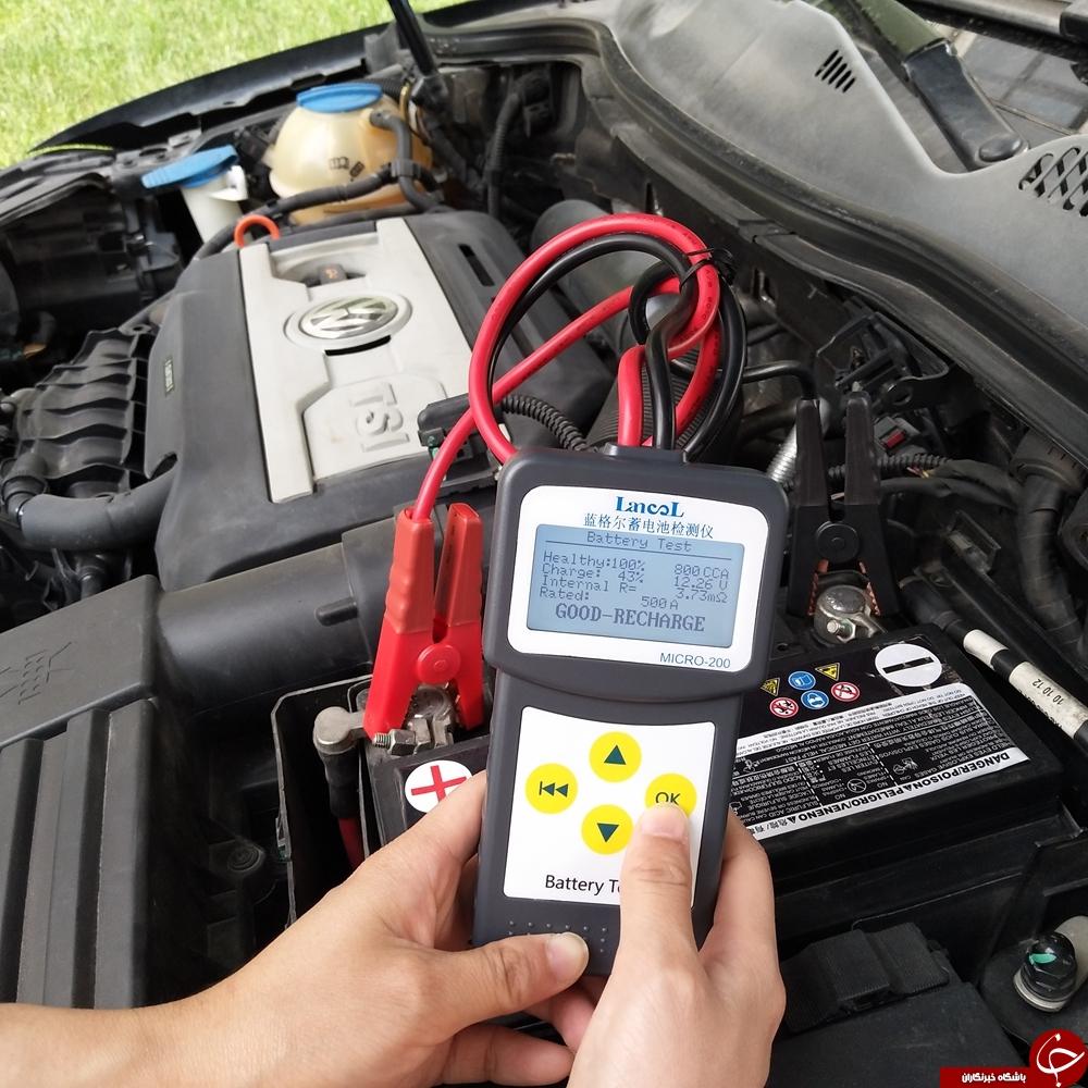 نحوه تشخیص زمان تعویض باتری خودرو