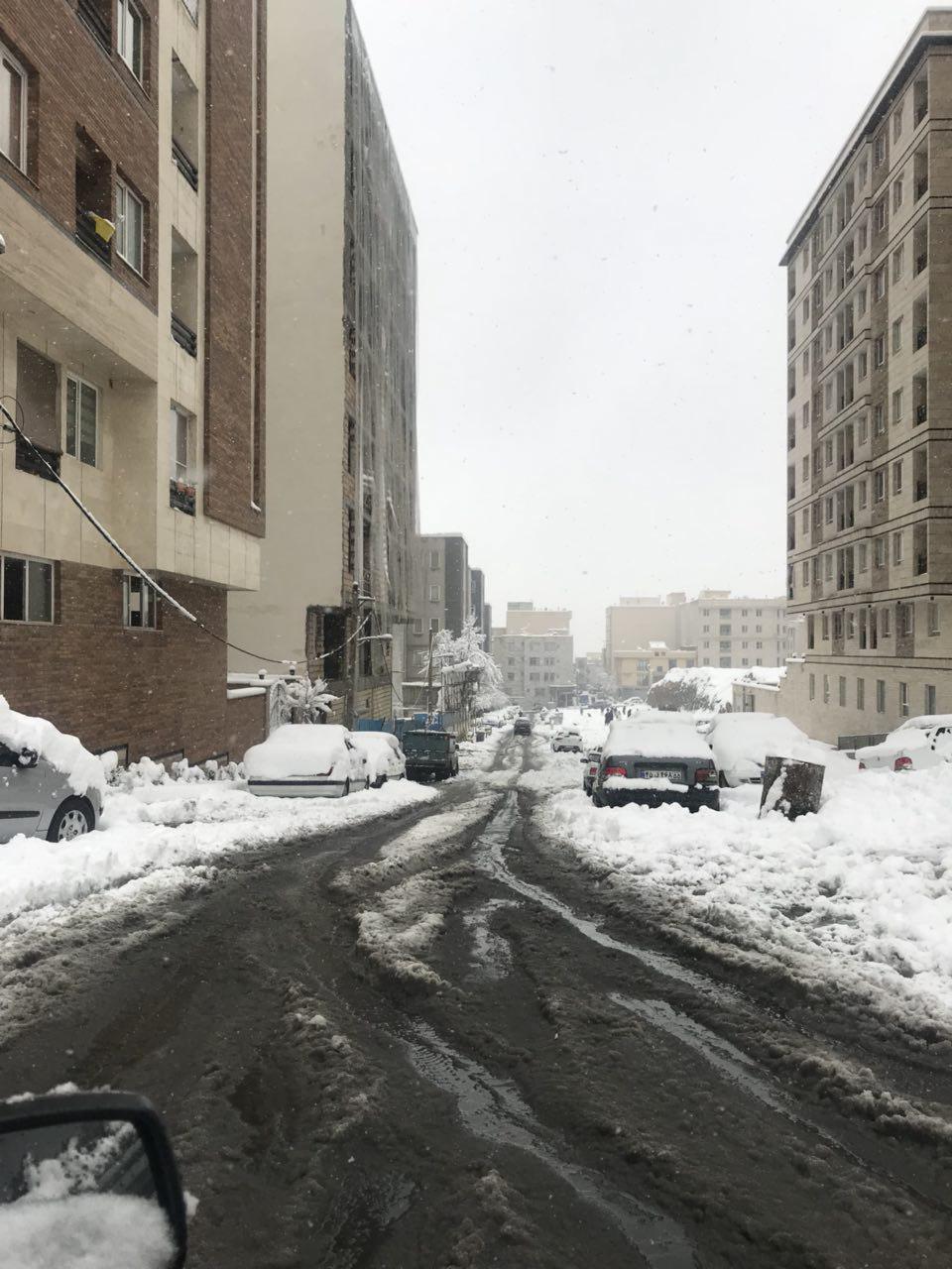سقوط داربست در خیابان امام حسین/حادثه هیچ گونه تلفات جانی به دنبال نداشته است