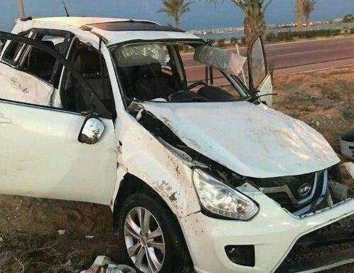 سانحه رانندگی بازیکن استقلال را راهی «ICU» کرد + عکس