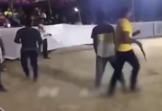لحظه مرگ یک ورزشکار مقابل دوربین+فیلم