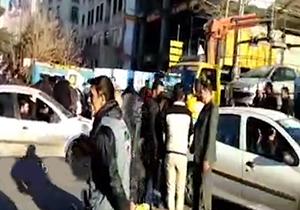 بازگشت آرامش به خیابانهای تهران + فیلم