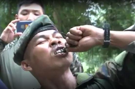 نوشیدن خون مار کبری؛ آموزش زنده ماندن به شیوه تایلندی به سربازان آمریکایی و کره جنوبی+تصاویر و فیلم