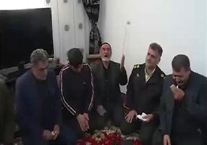 حال و هوای خانواده و منزل شهید «رضا امامی» از شهدای دیشب درگیری با دراویش + فیلم