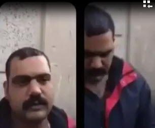 حال و روز درویش بزدلی که در خیابان پاسداران دستگیر شد +فیلم