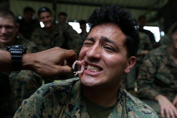 آموزش زنده ماندن به شیوه تایلندی به سربازان آمریکایی+تصاویر