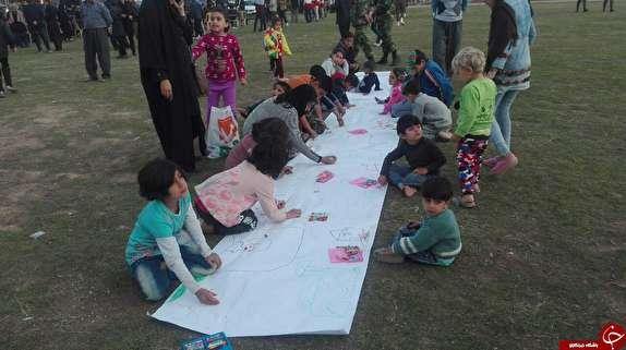 باشگاه خبرنگاران -مربی که با نقاشی سعی داشت امید و نشاط را به کودکان بازگرداند