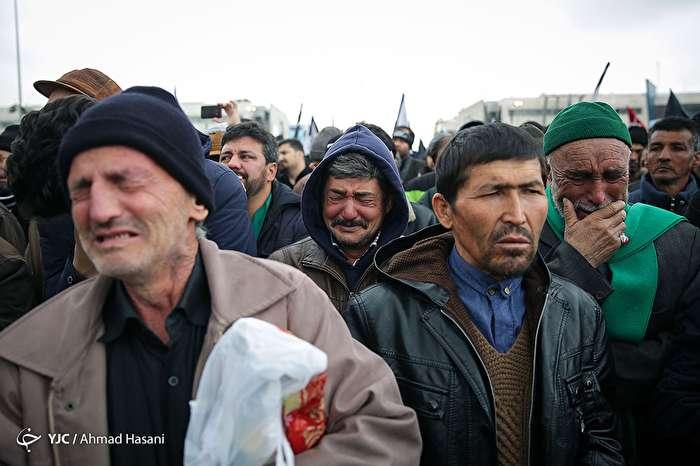اجتماع عظیم فاطمیون و تشییع شهدای گمنام و مدافع حرم در مشهد