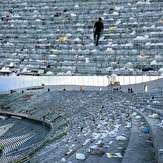 باشگاه خبرنگاران -اجرای طرح بی زباله در ورزشگاه آزادی