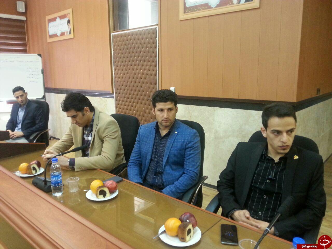 قهرمانان مدال آور کرمانشاهی به کمک کودکان بی سرپرست می آیند+تصاویر