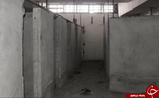 کشف شکنجه گاه زیرزمینی مخوف داعش در سوریه+ تصاویر