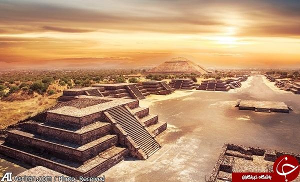 شباهت عجیب یک شهر باستانی به مادِربورد کامپیوتر! +تصاویر