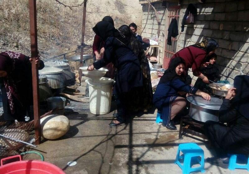 مروری بر همراهی مردم منطقه سقوط هواپیما با امدادگران