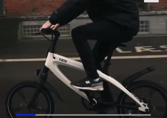 دوچرخه مجهز به انرژی خورشیدی را ببینید +فیلم