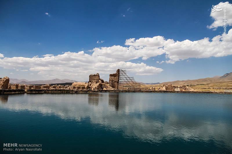 دریاچهای اسرارآمیز در آذربایجانغربی+تصاویر