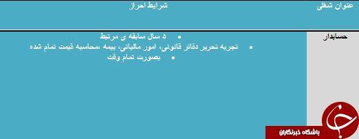 دعوت به همکاری در شیراز