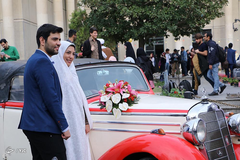 خاطره جالب رئیس دانشگاه امیرکبیر از ازدواج دانشجویی/ اعزام 101 زوج دانشجو به مشهد مقدس