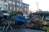 قاچاق ۲ تن چوب جنگلی درشهرستان سوادکوه