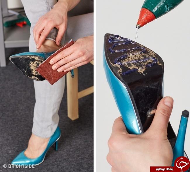 ویژه نوروز////ترفندهایی برای تازه و نو نگه داشتن کفشهایتان