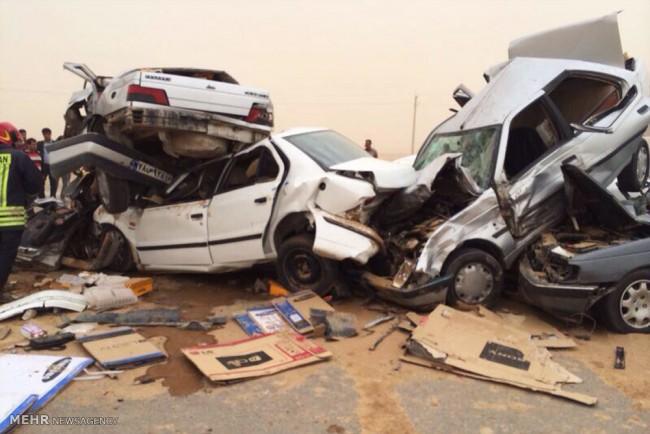 مهمترین علل عمده تصادفات در کشور/ مرگ 2/5 نفر ایرانی در هر ساعت بر اثر تصادفات رانندگی
