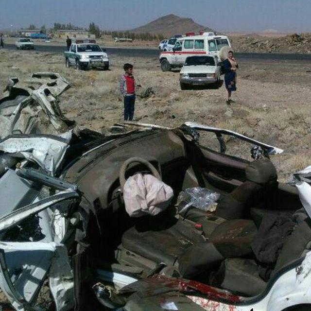۱۱ کشته و زخمی بر اثر واژگونی خودرو