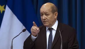 لودریان: اگر استفاده از سلاح شیمیایی در سوریه ثابت شود، پاریس واکنش نشان خواهد داد