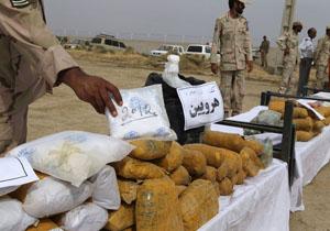کشف محموله ۴ تن و ۲۵۸ کیلوگرمی مواد مخدر در سیستان و بلوچستان