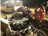 باشگاه خبرنگاران -مرگ سرنشینان پراید در برخورد با کامیون در محور اراک_توره + تصاویر