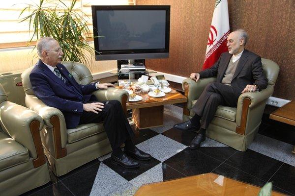باشگاه خبرنگاران -احسان اوغلو با رئیس سازمان انرژی اتمی دیدار و گفتگو کرد