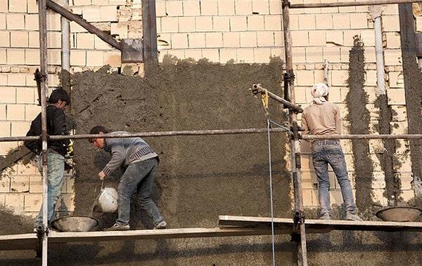 وقتی نیروی کار خارجی شرایط را برای کارگرن ساختمانی ایرانی، دشوارتر می کند