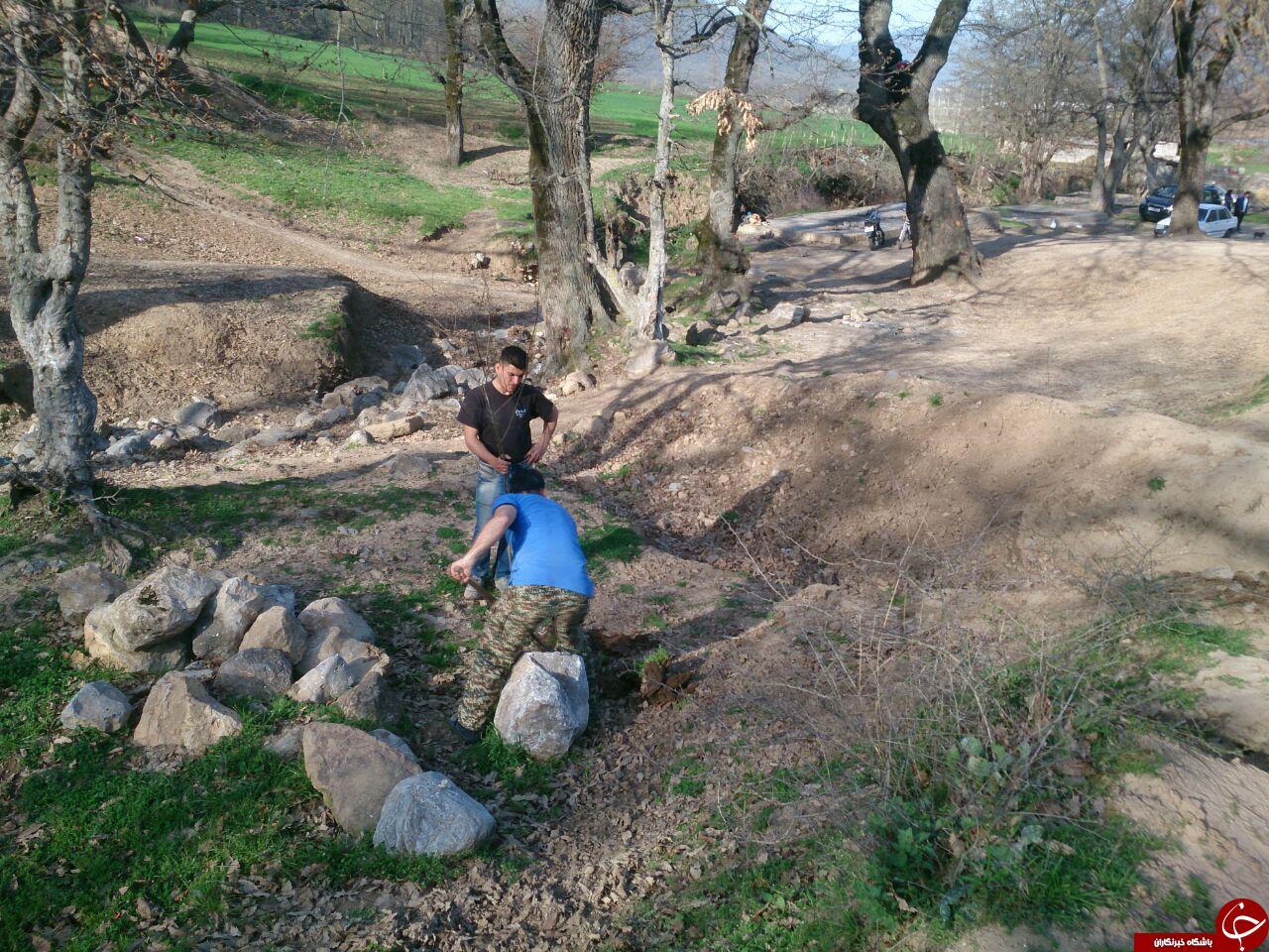 کاشت 200 اصله نهال در طبیعت زیبای رامیان + فیلم و تصاویر