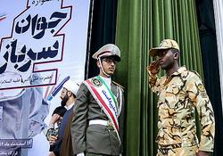 درخواست جالب سرباز عرب زبان از فرمانده کل ارتش +فیلم