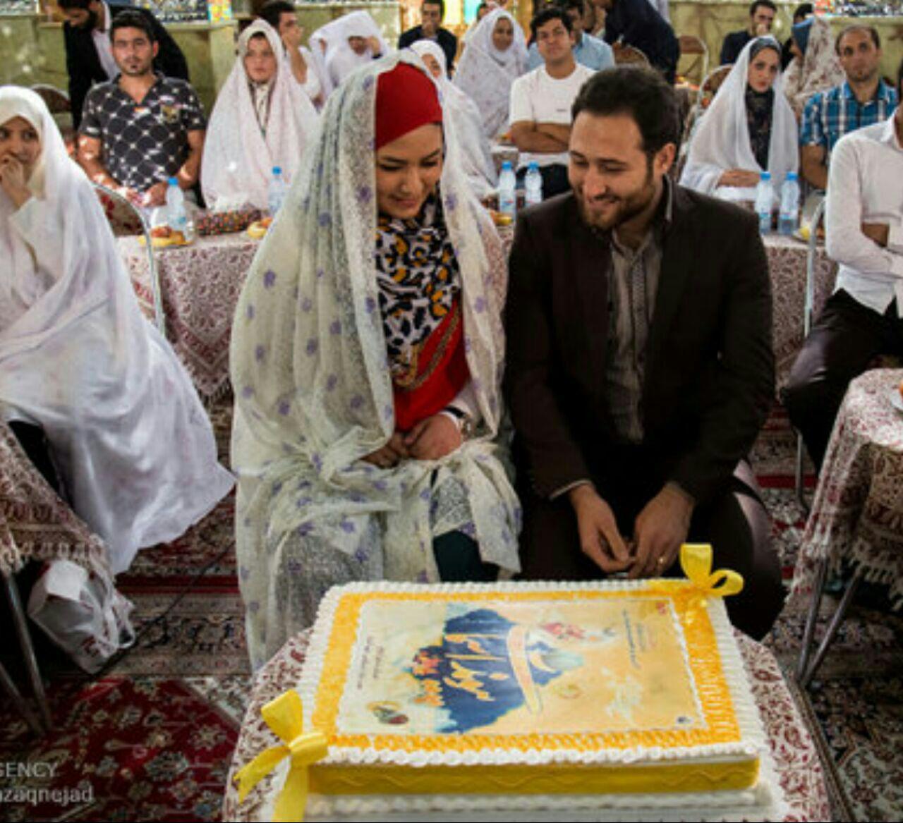 مراسم ازدواج آسان بیش از ۲۱۰ زوج جوان در کاشمر برگزارشد